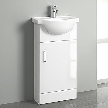 sink vanity units for bathrooms wall hung white gloss cloakroom basin vanity unit sink cabinet bathroom storage furniture