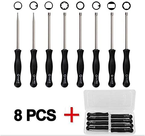 HIPA 8 Pc Adjustment Tool Kit Tune-up Adjusting for Common 2 Cycle Engines