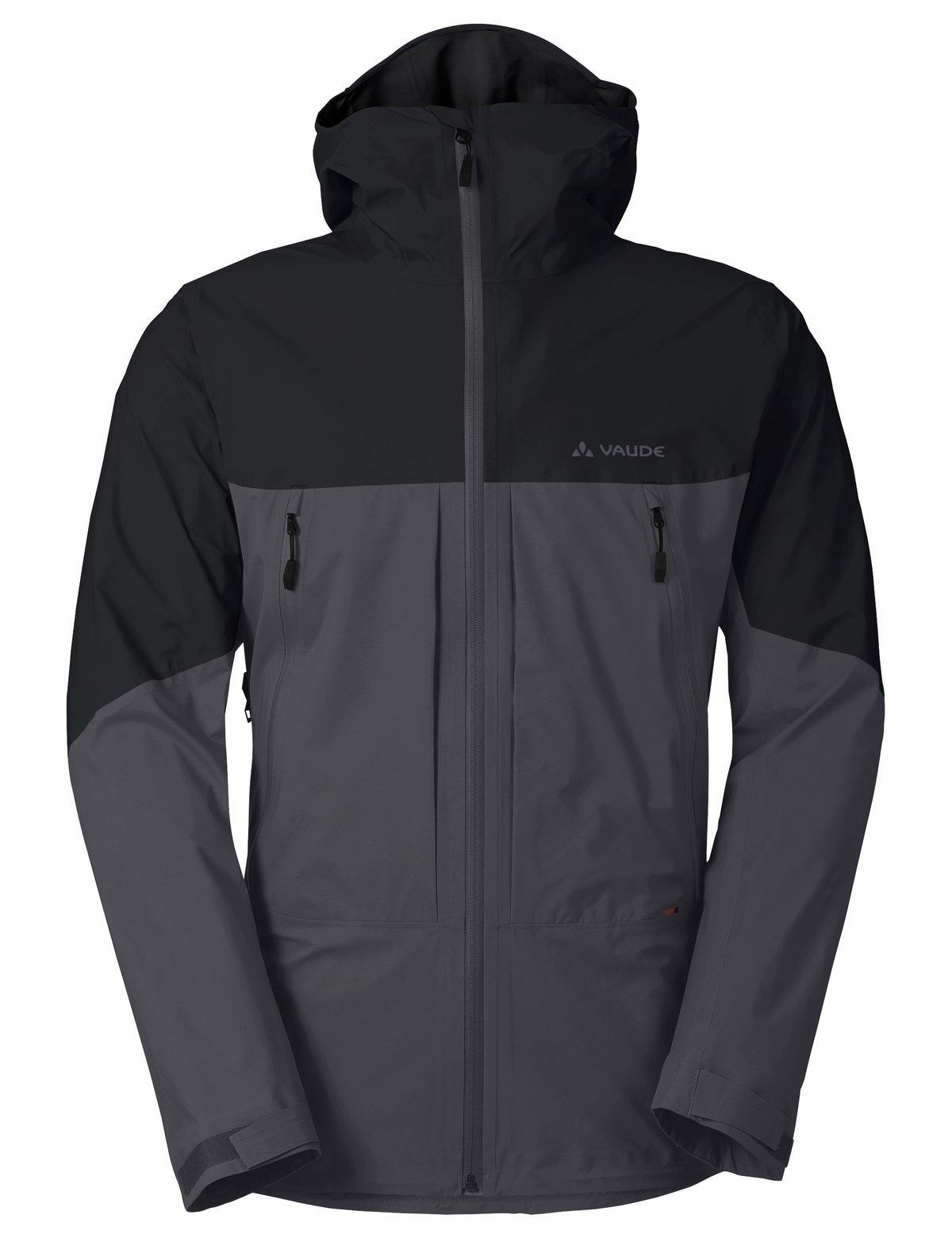 VAUDE Men's Croz 3L Jacket, Iron, Medium