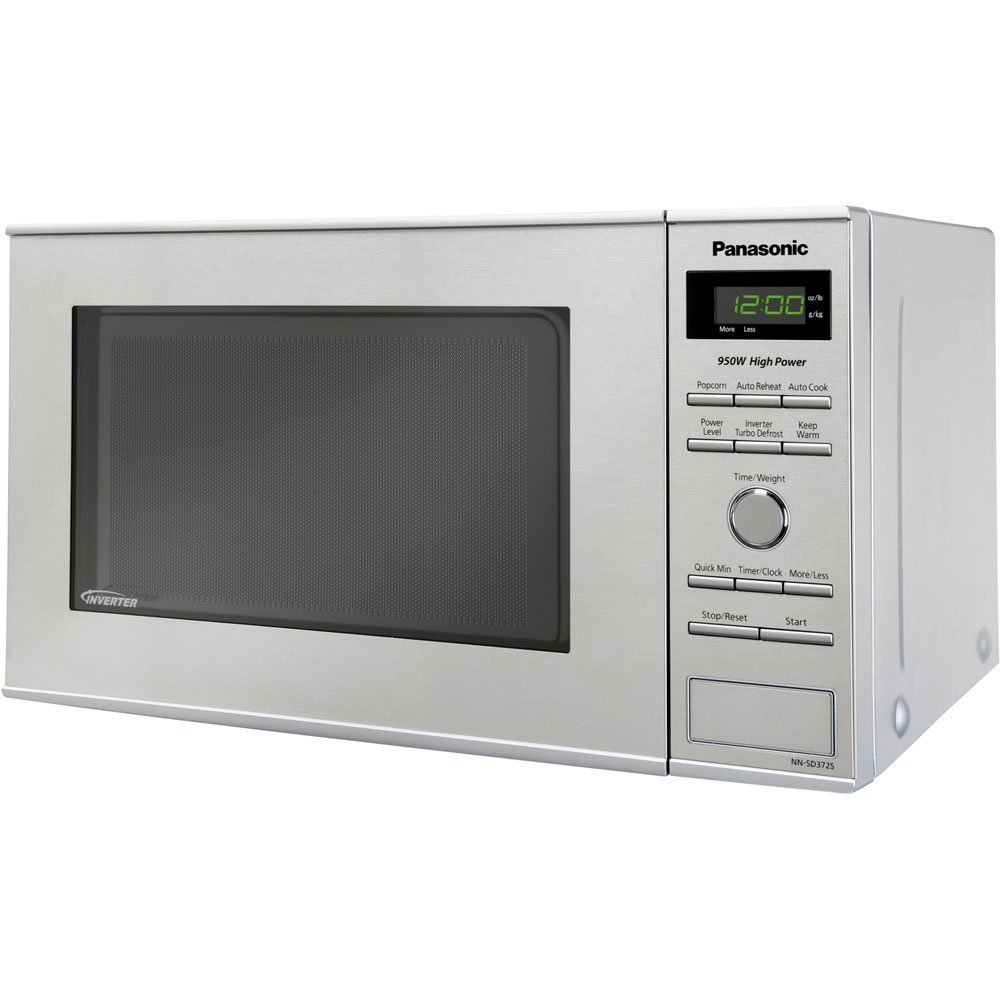 Panasonic NN-SD372S Countertop Microwave with Inverter Technology