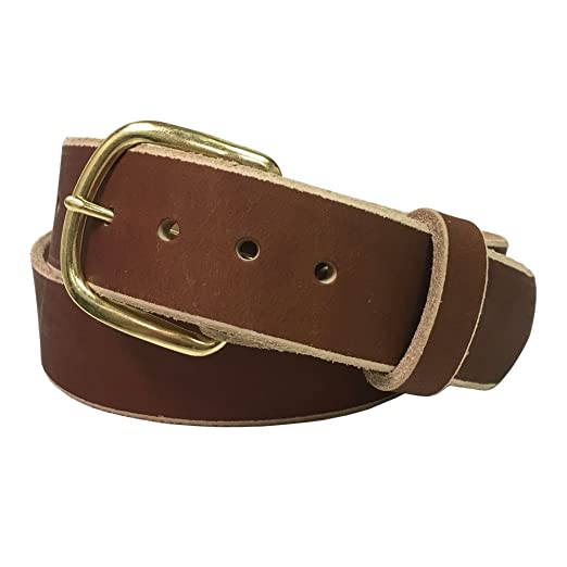 Jean Belt, Crazy Horse Water Buffalo Leather, 9 Ounce - Handmade In The USA! By Exos