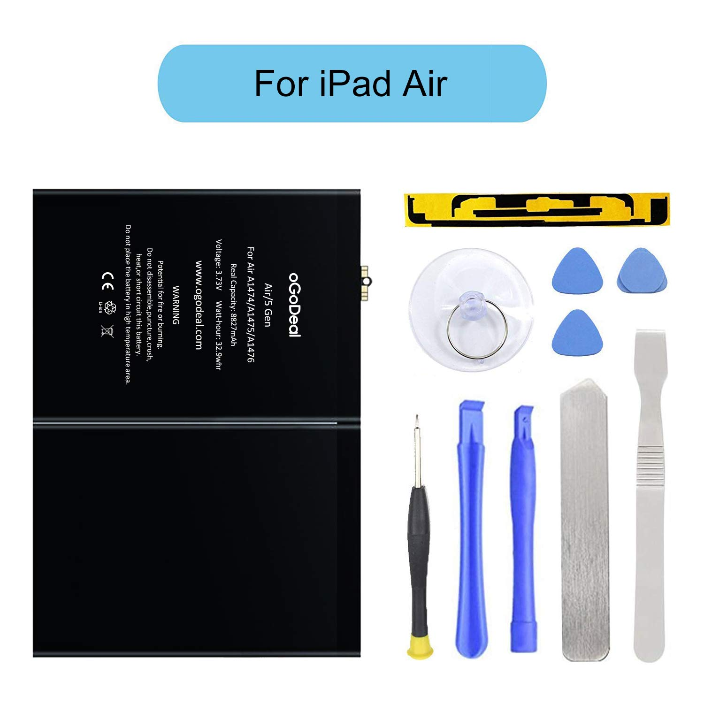 Bateria Tablet A1484 Kit para Apple iPad Air A1474 A1475 A14