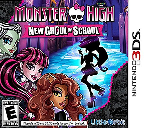 Monster High New Ghoul in School 3DS - Nintendo 3DS]()