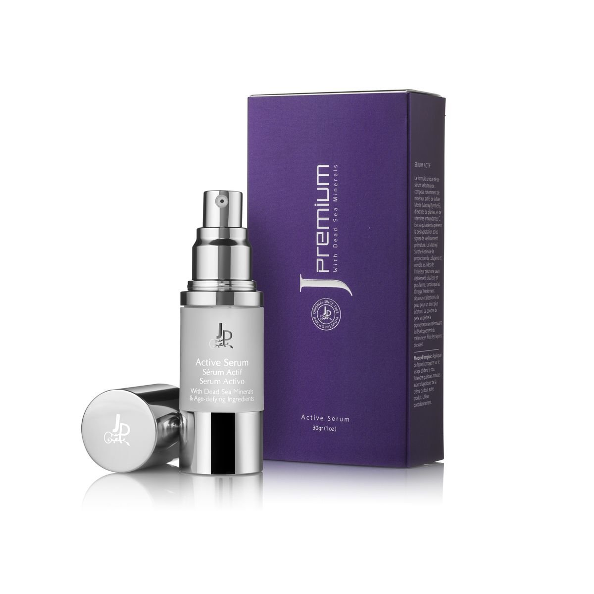 Amazon.com : Premium Active Serum by Jericho for energetic glowing look, Enriched with Dead Sea Minerals, Pure Honey, Plant Extracts, Vitamins And Powerful ...
