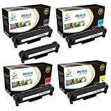 Catch Supplies Replacement HP 312X toner cartridge 5 pack set  2 High Yield Black CF380X, Cyan CF381A, Yellow CF382A, Magenta CF383A  compatible with the HP Color LaserJet Pro MFPM476nw, M476dn,M476dw