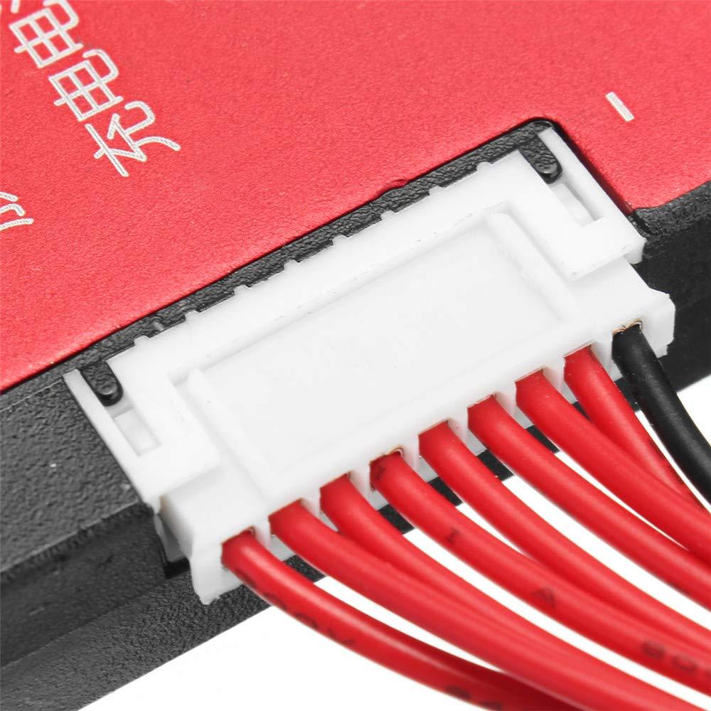 KUNSE 8S 24V BMS 16A//25A//35A//60A Lifepo Ion Battery Battery Board De Protecci/ón con Equilibrio A Prueba De Agua-25