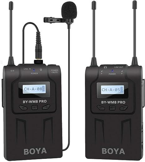 Boya - Sistema de micrófono inalámbrico para grabaciones ...