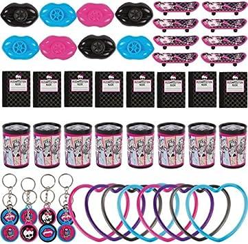 Amscan - Pack de juguetes para regalos de cumpleaños Monster High ...