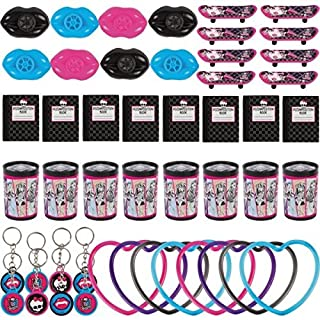 """Freaky Fab Monster High Birthday Party  Favours Value Pack (1 Piece), Multi Color, 11 1/2"""" x 9"""".."""