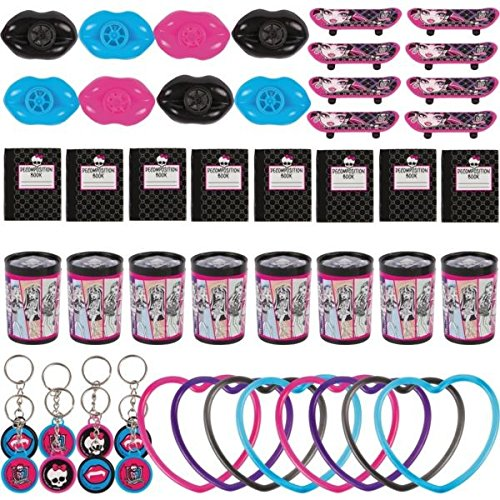 Favor Value Pack | Monster High Collection | Party Accessory -
