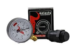 Melasty, Vacuum Regulator for Cow and Goat Milking Machines and Vacuum Gauge Combo!