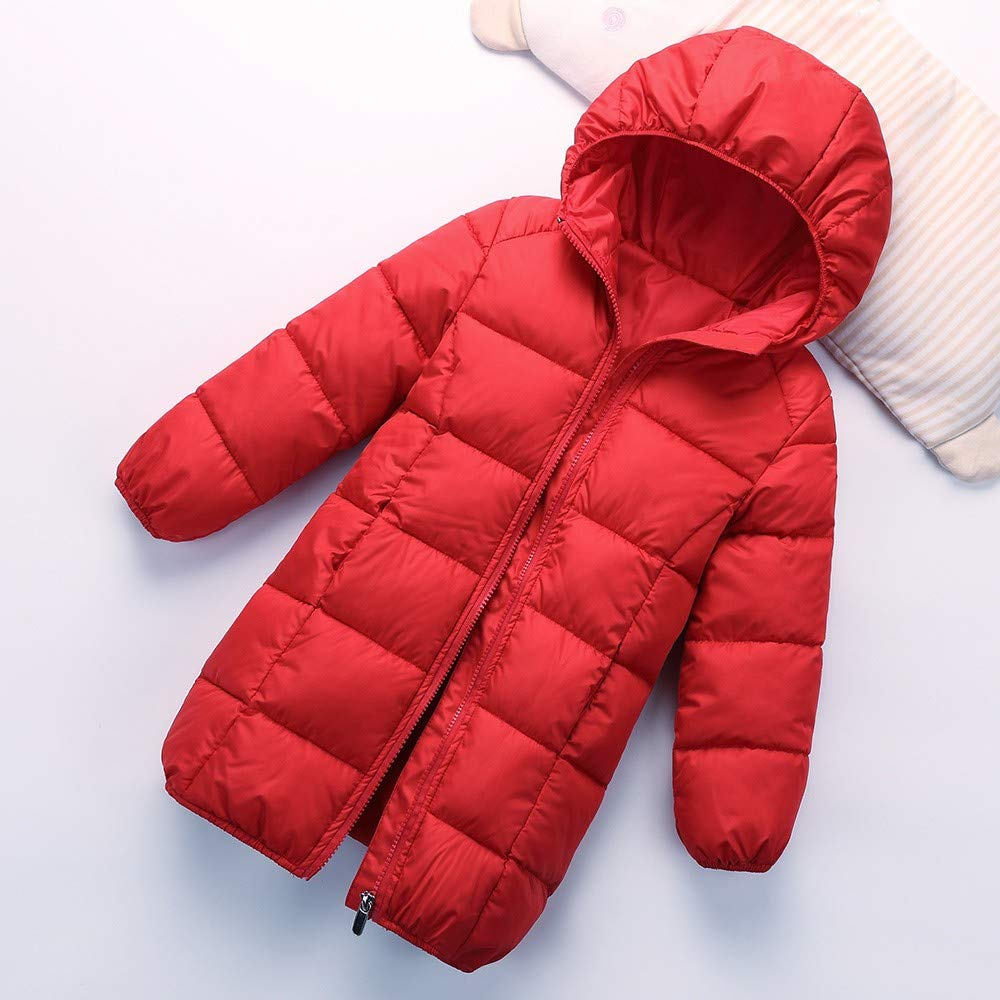 Lightweight Windproof Jacket/ Kids Baby Girls Boys Winter Solid Coat Cloak Jacket Thick Warm Outerwear Clothes