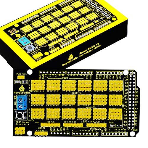 (KEYESTUDIO MEGA Sensor Shield V1 for Arduino MEGA 2560 R3)