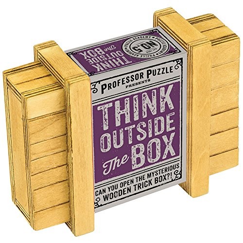 Professor Puzzle Think Outside The Box - For Critical Thinkers - Mind Games ()