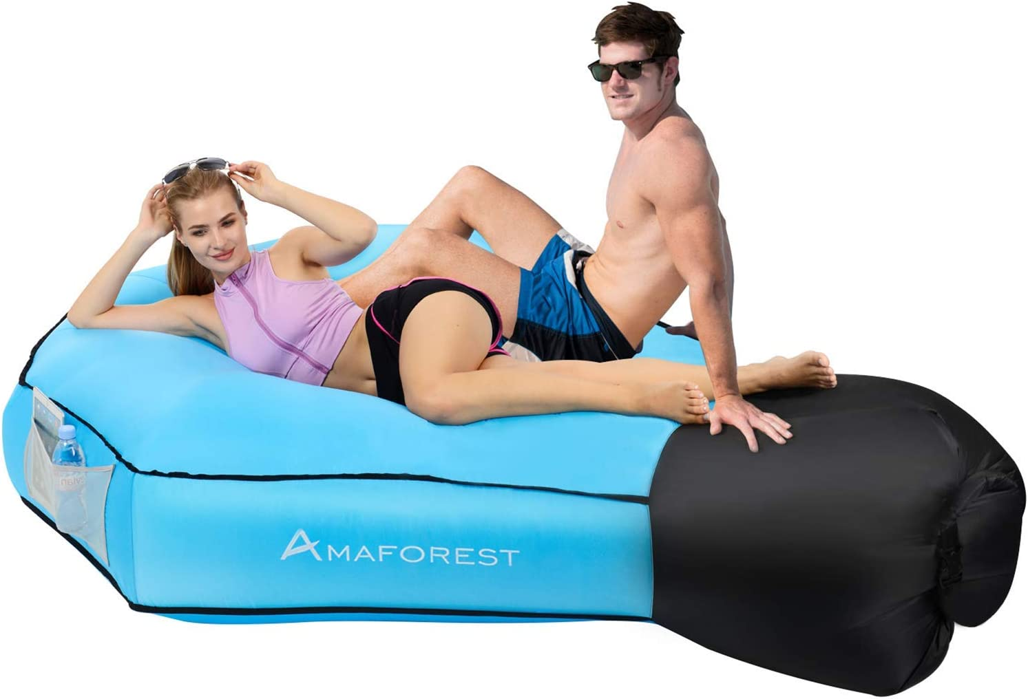 Air Couch and Pool Float Hammock Water Proof/&Easy-Carrying Hammock for Camping Picnics /& Travelling Outdoor,Hiking,Lakeside(Black) Ytwtech Inflatable Lounge Sofa