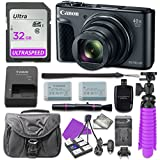 Canon PowerShot SX730 Digital Camera with 32GB SD Memory Card + Accessory Bundle