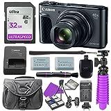 Canon PowerShot SX730 Digital Camera with 32GB SD Memory Card + Accessory Bundle