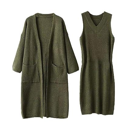 d96139b62 Sudadera para Mujer, Abrigo, Tops para Mujer Blusa de Color Liso Invierno  Vestido de