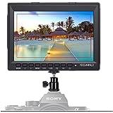 FEELWORLD FW759 Full HD ビデオモニター1280 x 800 IPS HDMI オンカメラフィールドモニターコントラストカメラキャノン、ソニー、FPV モニターなど 用 HDMIモニター(7インチ)【一年間保証&日本語設定可能】