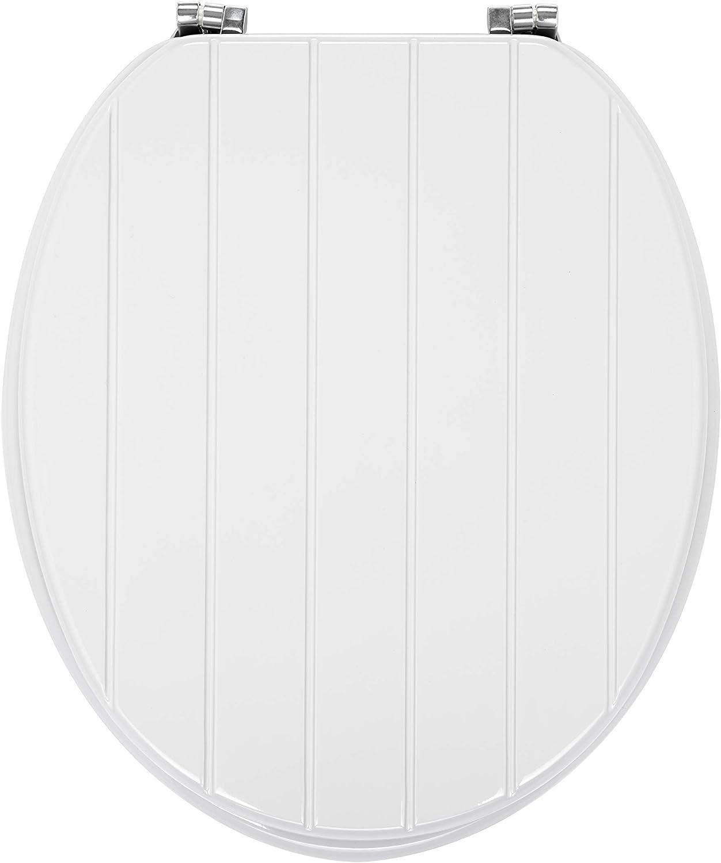 Gris 45X 36 X 5 cm AQUALONA Products Abattant de Toilettes Familial