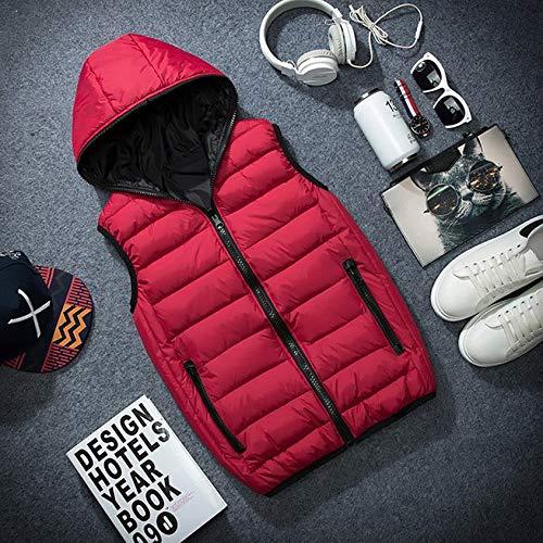 Gilet La Red Automne Femmes Hiver xl Printemps Sans Capuche Manches Chaud Manteaux Travail Mua Gilets Hommes Veste Taille Plus De Mode Pour À x6f1fw