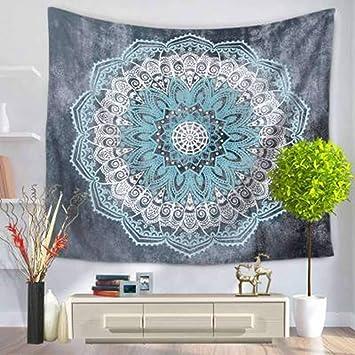 DOTDOT Tapiz de Mandala,DOTBUY Creativo Decoración Tapices Mandala Impreso Tapicería Cubierta del Sofa Manteles
