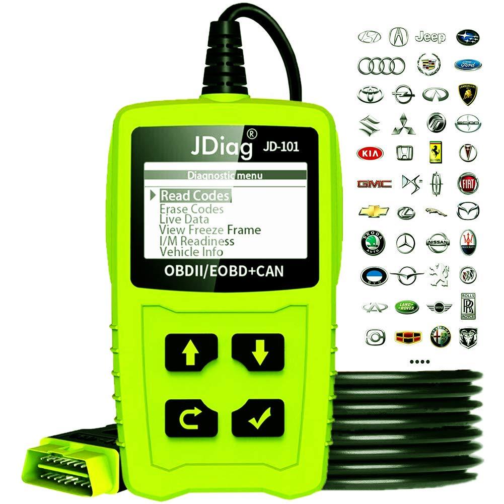 Vehicle Code Reader >> Jdiag Enhanced Obd Ii Vehicle Code Reader Automotive Obd2 Scanner Auto Check Engine Light Scan Tool Obd2 Code Scanner