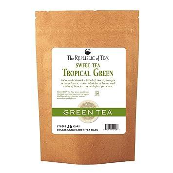 La República De Té té dulce té verde, té fruta exótica ...