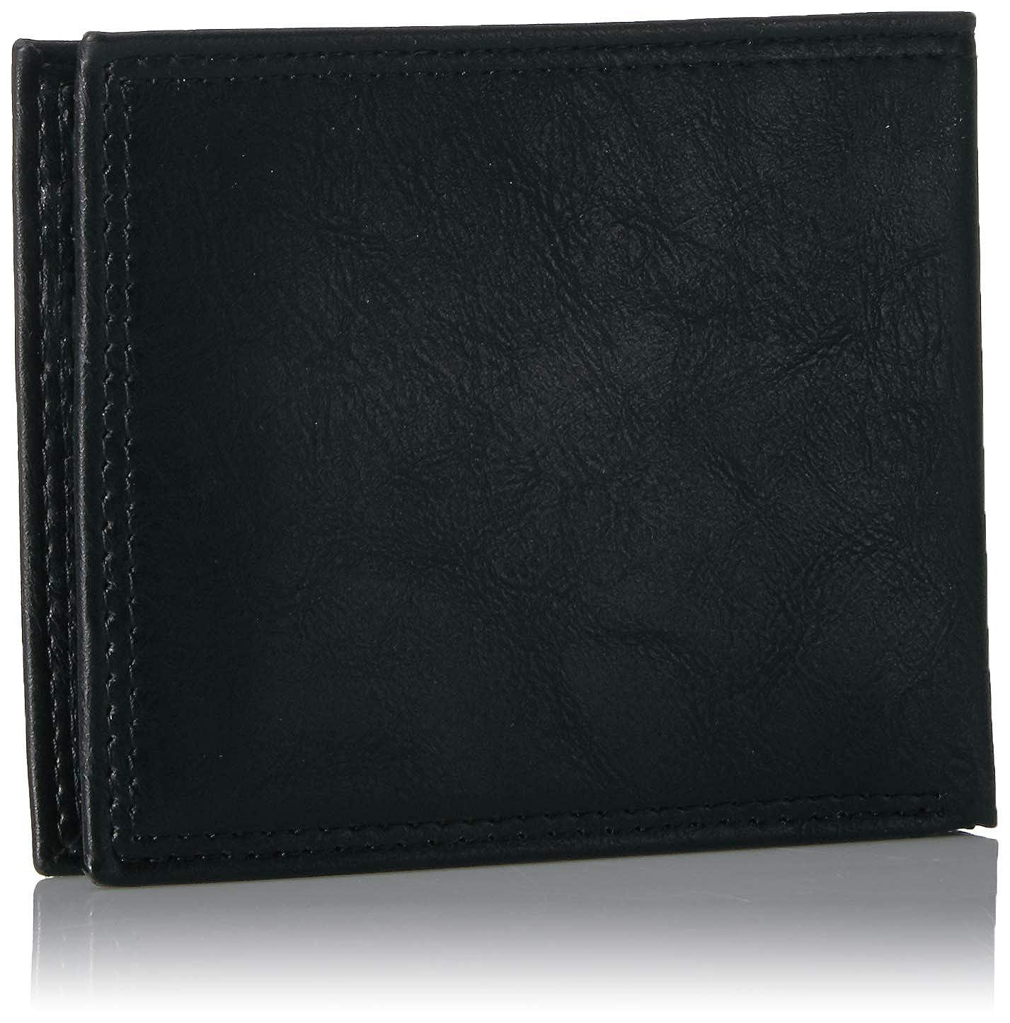 Essentials Mens RFID Passcase Bifold Wallet