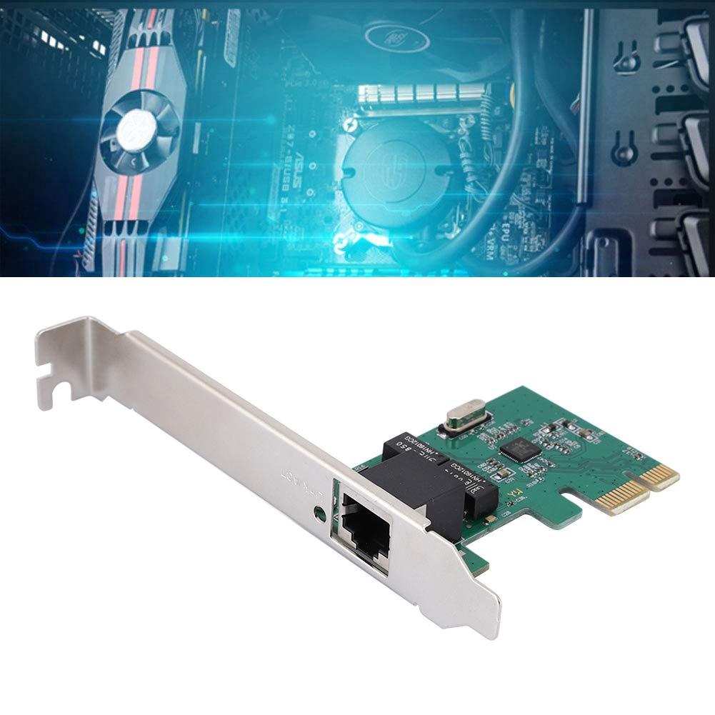 para Windows 98SE Ethernet Gigabit,Tarjeta de Red Escritorio ME 7//8//10 Mac//Linux//Unix, 2000 Tonysa Tarjeta de Red Realtek RTL8111E un Puerto PCI-E 10//100 1000Mbps XP//Vista