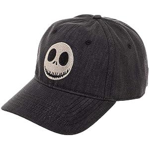 Jack Skellington Snapback Hat Nightmare Before Christmas Accessory Jack  Skellington Gift - Jack Skellington Hat Nightmare 4f332a36e510
