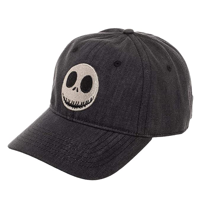 c97f1491dc8b1 Jack Skellington Snapback Hat Nightmare Before Christmas Accessory Jack  Skellington Gift - Jack Skellington Hat Nightmare