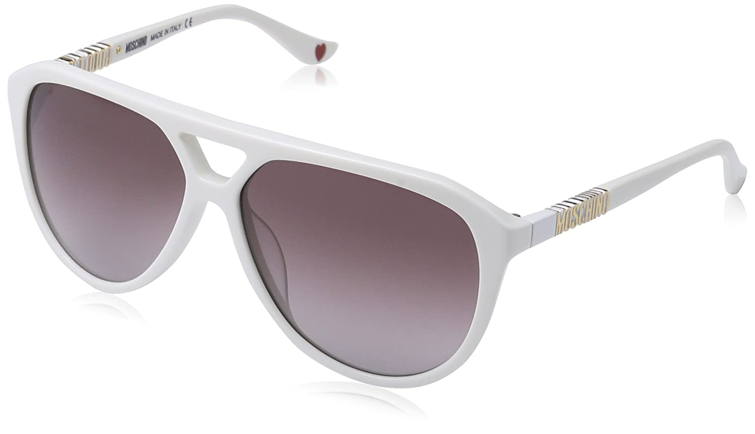 Womens MO768S Aviator Sunglasses Moschino