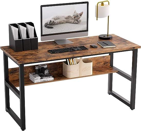 IRONCK Industrial Computer Desk 47″