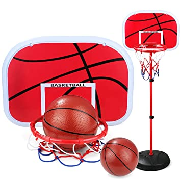 Canasta Baloncesto Infantil, Canasta Aro de Baloncesto Ajustable ...