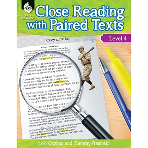 Close Reading with Paired Texts Level 4 by Shell Education