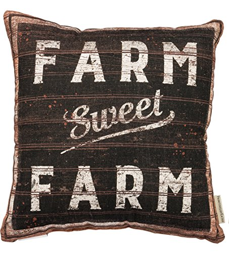 Farm Sweet Farm Pillow Vintage Pillow Farmhouse Pillows