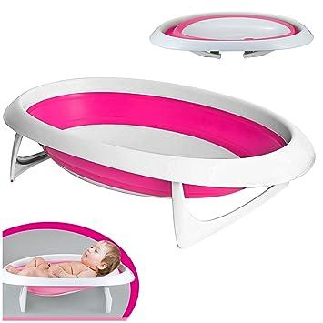 deAO Bañera para Bebés y Recién Nacidos Bañera Plegable y ...