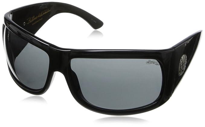 ba606997c4 Black Flys Fly Coca Buttons Wrap Sunglasses