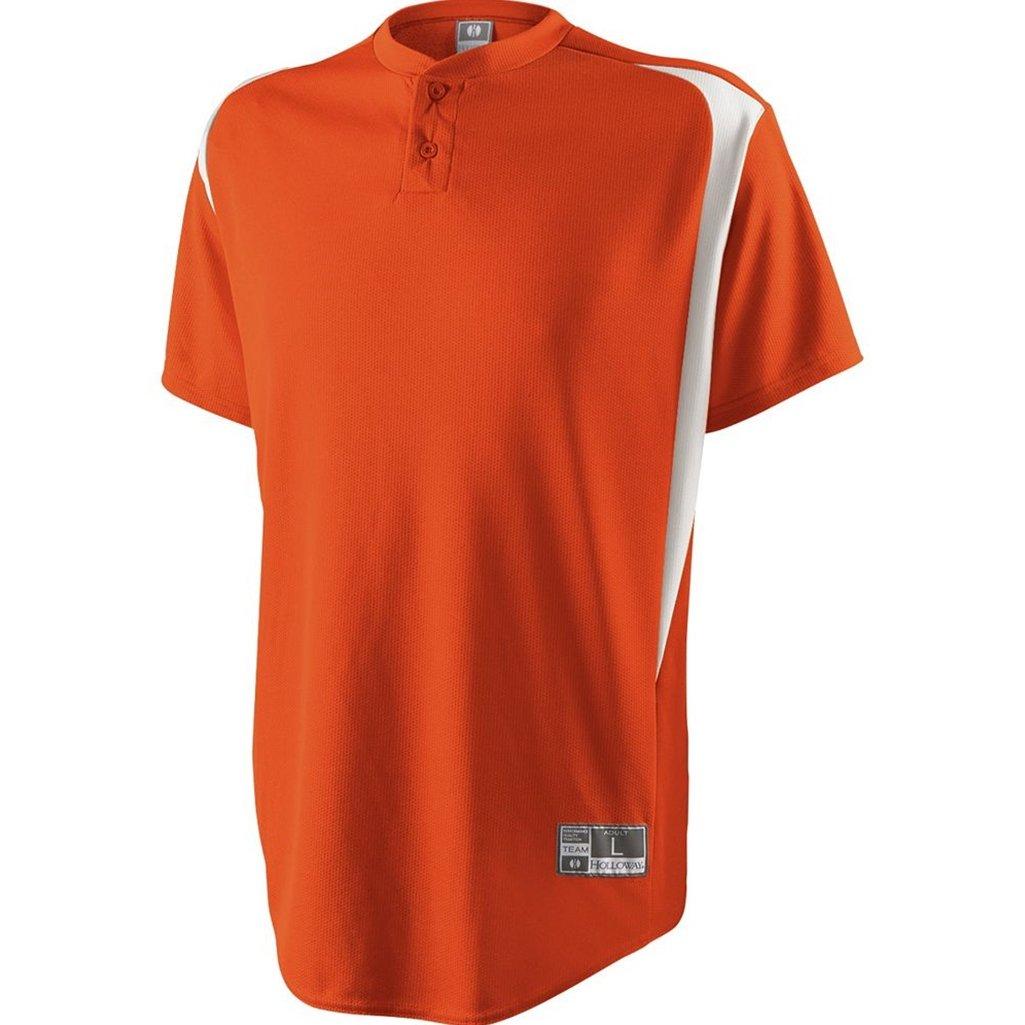 Holloway Youth Razor Jersey (Large, Orange/White) by Holloway