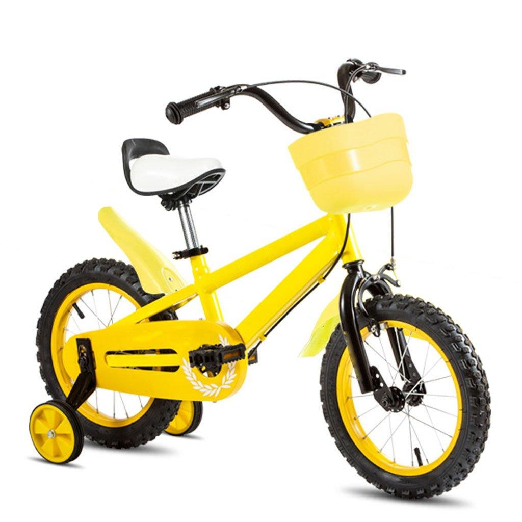 子供用自転車、ベビー用ベビーキャリッジ子供用自転車 B07C63NCRF イエロー いえろ゜ イエロー いえろ゜