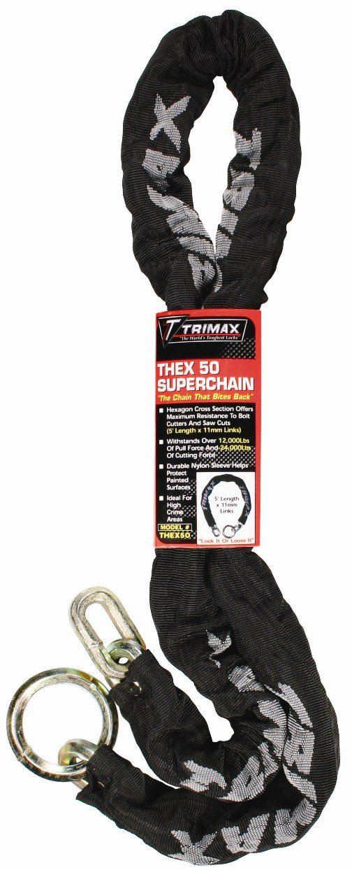 Trimax THEX50 THEX Super Chain - 5' Length with HEX 11mm Links