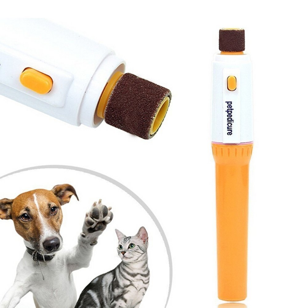 New Pet Dog Cat Nail Trimmer Tool Grooming Tool Care Grinder Clipper Electric Kit by D&B Pet Supplies