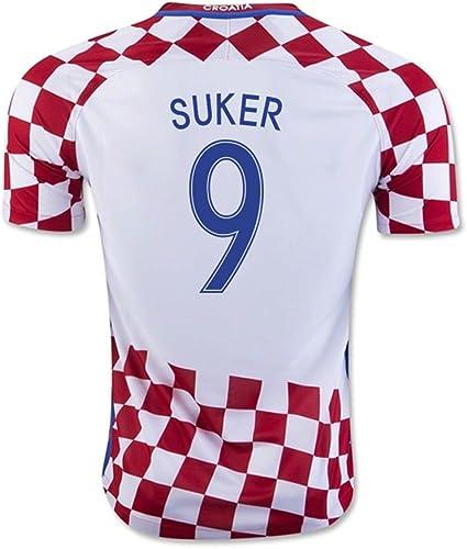 Nike 2016 17 Croatia Home Football Soccer T Shirt Maillot