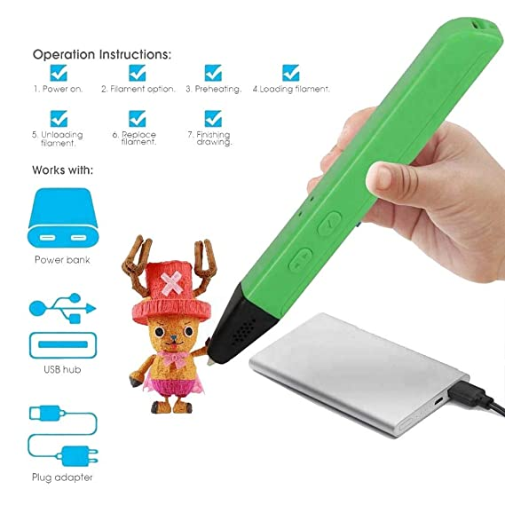 Bolígrafos Impresora 3D por Bolígrafo Digital para Niños con ...