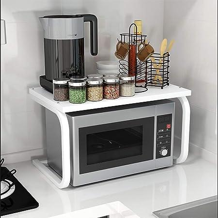 Gjrff Estante de Cocina/Estante de microondas/Piso/Marco de ...