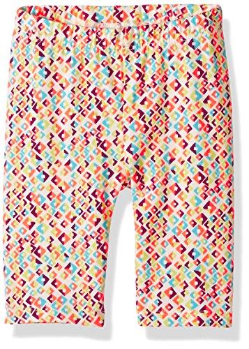 Crazy 8 Baby Toddler Girls' Printed Capri Legging, Multi, 3Y (Leggings Capri Toddler)