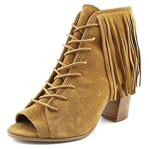 Boho-Chic Vacation & Fall Looks - Standard & Plus Size Styless - Steve Madden Women's Newporte Boot, Chestnut Suede, 6 M US