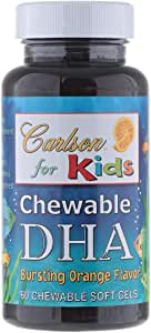 Carlson Kids Chewable Dha 60 Soft Gels