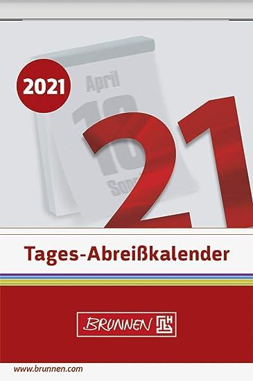 Amazon.: Brunnen 1070304001 Day Tear Off Calendar No. 4, 1